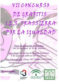 Cartel VII Concurso de Grafitis